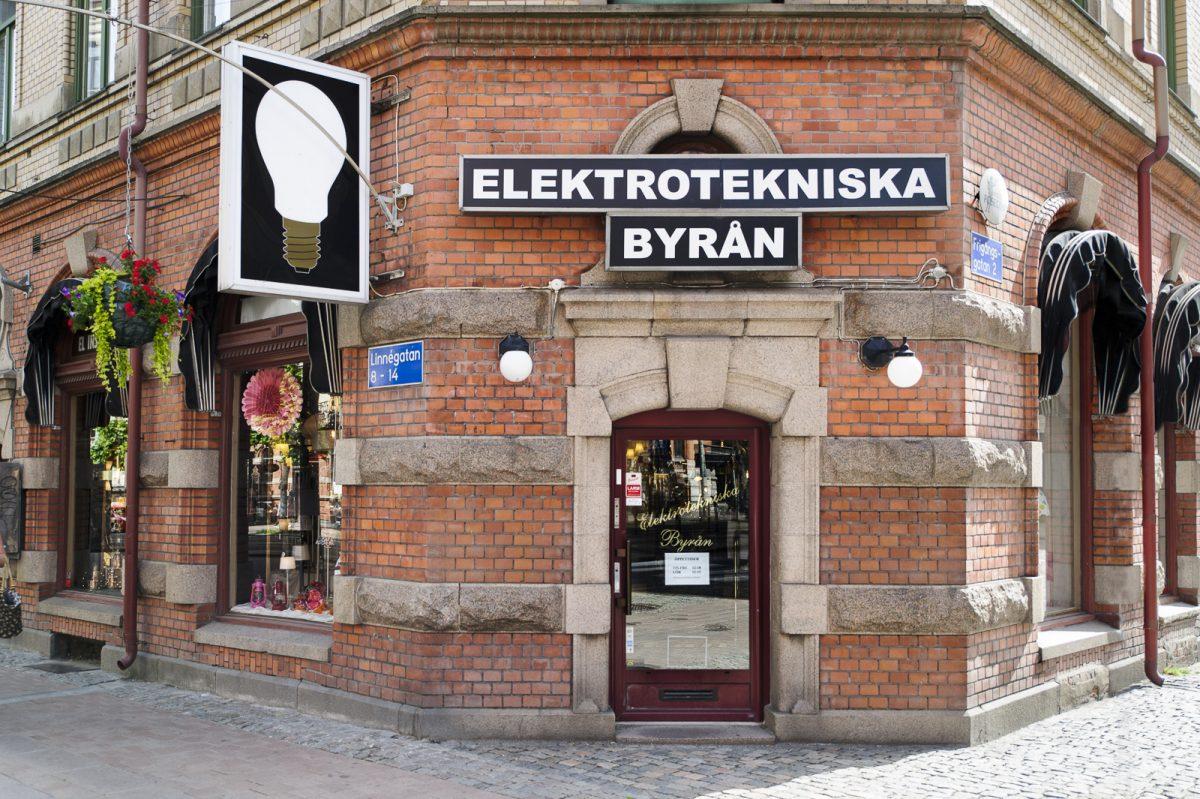 Elektrotekniska belysningsbyrån butik